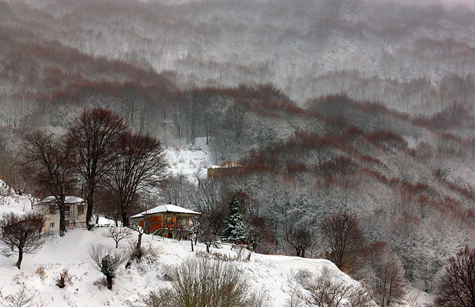 Η Ελλάδα στα λευκά!11 μαγευτικά χιονισμένα τοπία!