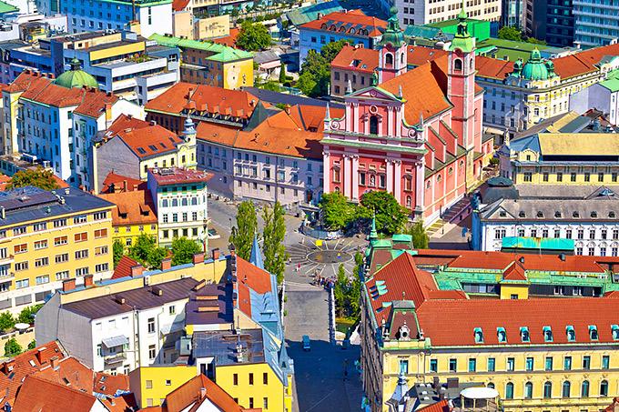 """Λιουμπλιάνα: Η """"αρχόντισσα"""" των Βαλκανίων"""