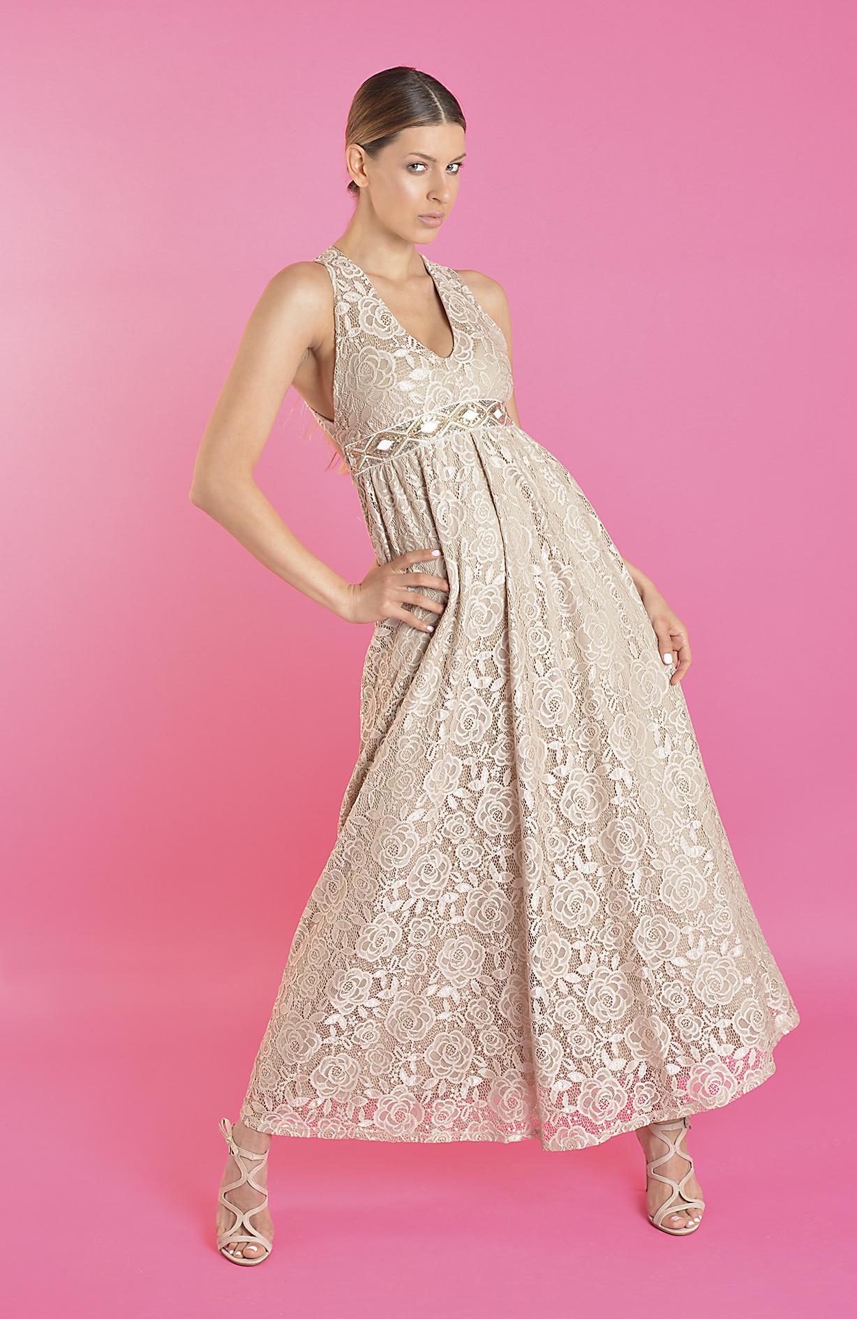 5ddd34c85d6e Δαντελένιο φόρεμα Paranoia Τιμή  67