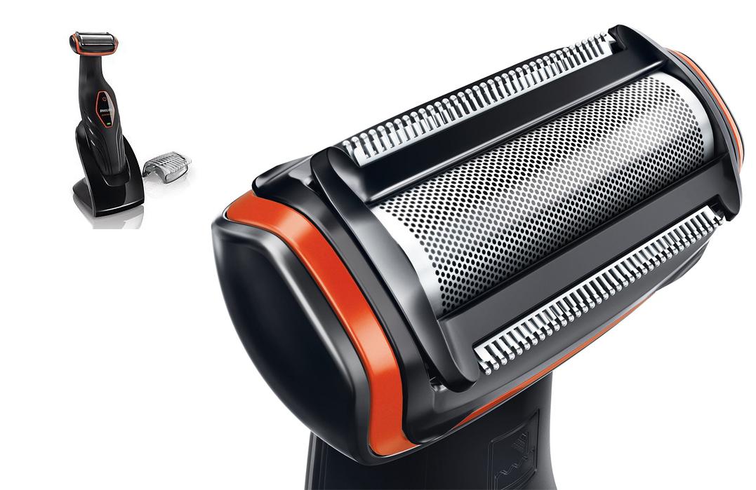 Υποαλλεργική ξυριστική μηχανή για το σώμα με περλέ άκρες κατά των  ερεθισμών a310a87dbac