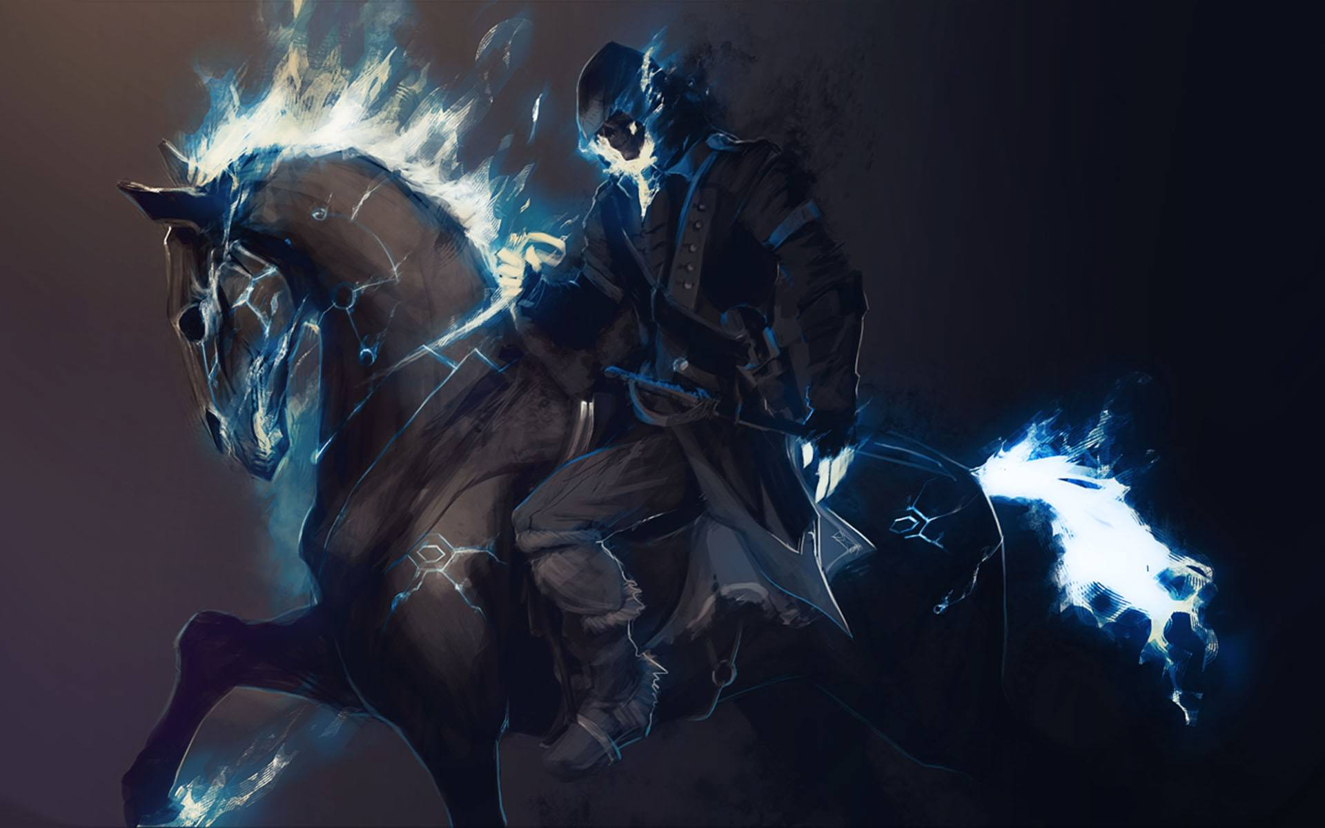 Images of Dark Fire Horses Digital - #SC