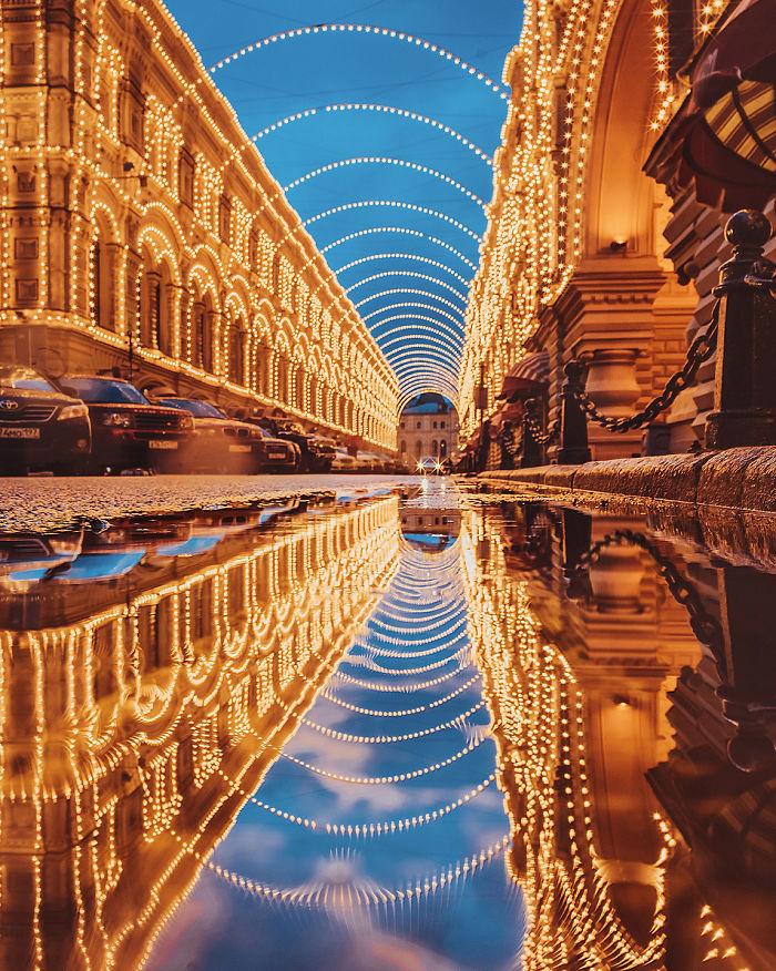 Η μαγευτική ομορφιά της χειμερινής Μόσχας